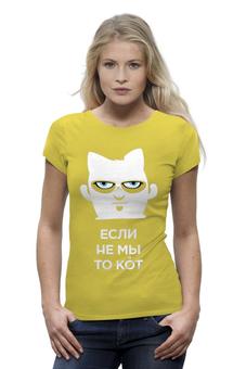 """Футболка Wearcraft Premium """"Если не мы, то кот"""" - навальный, команда навального, навальный четверг"""