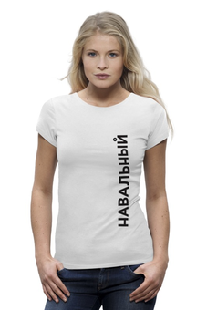 """Футболка Wearcraft Premium """"Предвыборная футболка"""" - навальный, команда навального, навальный четверг"""