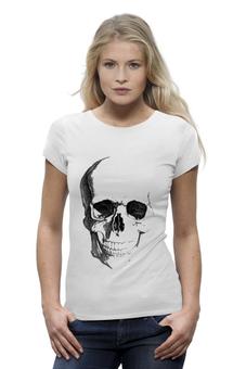 """Футболка Wearcraft Premium """"Череп"""" - skull, череп, death's head"""