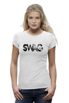 """Футболка Wearcraft Premium """"Swag """"Magical potenciales"""""""" - популярные, прикольные, в подарок, оригинально, футболка женская"""