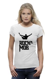 """Футболка Wearcraft Premium """"Rocknmob (черные принты)"""" - rocknmob"""