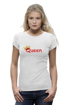 """Футболка Wearcraft Premium """"Queen"""" - авторские майки, надписи, queen, комплименты"""