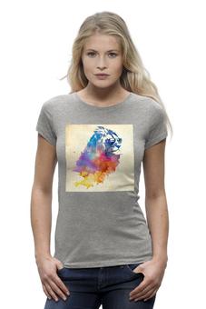 """Футболка Wearcraft Premium """"Крутышка"""" - прикольно, прикол, арт, девушка, футболка, женская, рисунок, в подарок, девушке, футболка женская"""