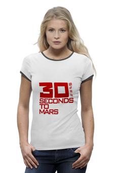 """Футболка Wearcraft Premium """"группа """"30 seconds to Mars"""""""" - 30 seconds to mars"""