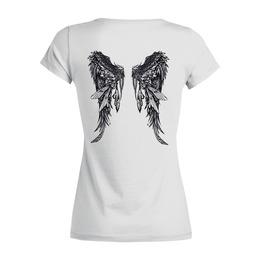 "Футболка Wearcraft Premium (Женская) ""Крылья"" - крылья, wings"