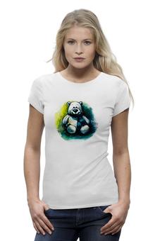 """Футболка Wearcraft Premium """"медведь плюшевый"""" - мишка, улыбка, детская, игрушка, медведь плюшевый"""