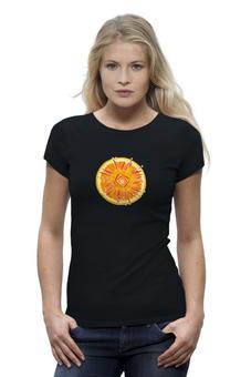 """Футболка Wearcraft Premium """"Апельсин"""" - арт, orange, апельсин, абстракция, авторский дизайн"""