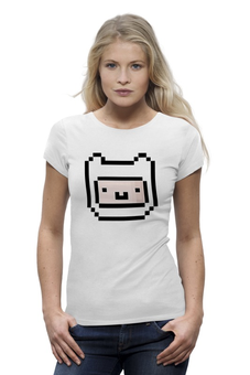 "Футболка Wearcraft Premium ""FINN & JAKE"" - время приключений, finn, adventure time"