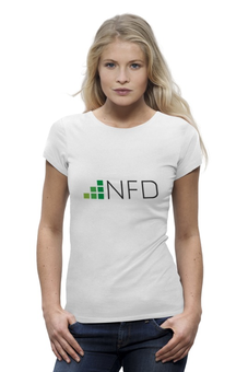 "Футболка Wearcraft Premium ""NeedForData"" - nfd"
