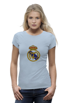 "Футболка Wearcraft Premium """"Реал Мадрид"""" - футбол, цветная, real madrid, реал мадрид, football club, футбольный клуб"