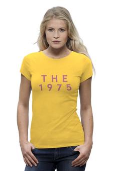 """Футболка Wearcraft Premium (Женская) """"The 1975"""" - the1975, мэттью хили, росса макдональда, 1975"""