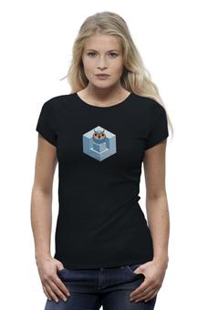 """Футболка Wearcraft Premium """"мудрость в кубе"""" - авторские майки"""