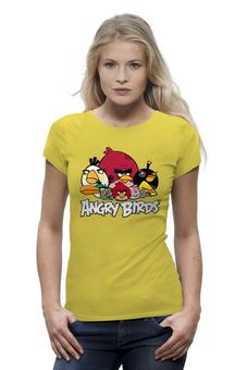 "Футболка Wearcraft Premium (Женская) ""Angry birds "" - птички"