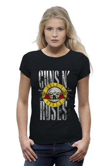 "Футболка Wearcraft Premium ""Guns'n'Roses t-shirt"" - рок, guns n roses, axl rose, ганз н розес, аксель роуз"