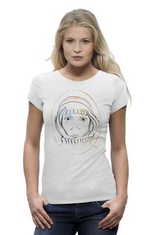 """Футболка Wearcraft Premium """"Елизавета"""" - прикольно, арт, авторские майки, рисунок, прикольные, в подарок, оригинально, футболка женская, креативно"""