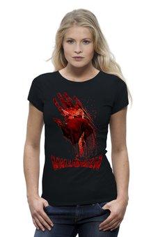 "Футболка Wearcraft Premium ""HALLOWEEN"" - хэллоуин, ужастик, убийца, маньяк, с ножом"