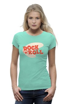 "Футболка Wearcraft Premium ""Rock'n'Roll retro"" - лето, рок, ретро, вечеринка, рокнролл"
