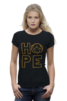 "Футболка Wearcraft Premium ""Hope (Star Wars)"" - star wars, hope, звёздные войны, лея, lea"