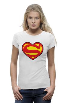"""Футболка Wearcraft Premium """"Супермен Любовь"""" - supermen"""