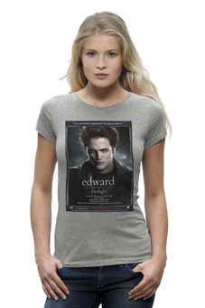 "Футболка Wearcraft Premium ""The Twilight Saga / Сумерки"" - эдвард, kinoart, twilight, сумерки"