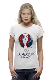 "Футболка Wearcraft Premium ""Евро 2016"" - футбол, france, франция, евро, uefa, 2016, euro 2016, чемпионат европы"