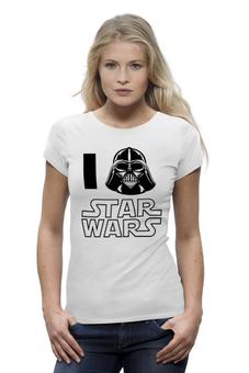 "Футболка Wearcraft Premium (Женская) ""Звёздные войны (Star Wars)"" - star wars, darth vader, дарт вейдер, звёздные войны"