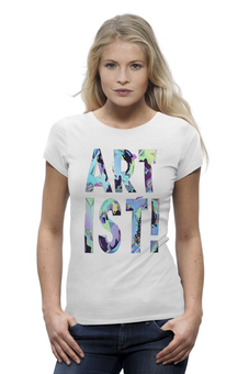 "Футболка Wearcraft Premium ""art ist!"" - футболка женская"