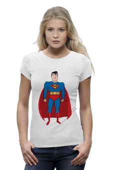 """Футболка Wearcraft Premium """"Супермен (Superman)"""" - супермен, superman, супергерой, dc"""