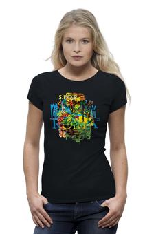 """Футболка Wearcraft Premium """"S.P.Q.R."""" - италия, футболка, фрукты, коллаж, футболка женская, слова, символы, буквы, рим"""