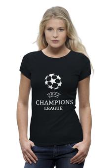 "Футболка Wearcraft Premium ""Лига чемпионов"" - футбол, спорт, football, uefa, лига, уефа, чемпионов, champions league"