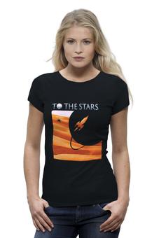 "Футболка Wearcraft Premium ""To The Stars Dunes Womens"" - ava, angelsandairwaves, blink182, tomdelonge, tothestars"
