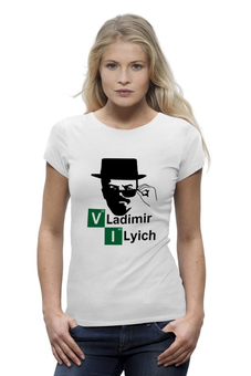 "Футболка Wearcraft Premium ""Владимир Ильич"" - ленин, во все тяжкие, breaking bad, walter white, heisenberg"
