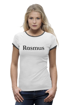 "Футболка Wearcraft Premium (Женская) ""Rasmus"" - rasmus"