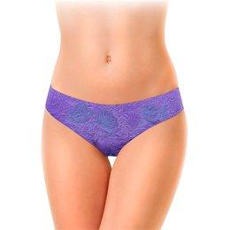 """Женские трусы-слипы """"Фиолетовый шик."""" - цветы, сиреневый, роза, фиолетовый, фантазия"""